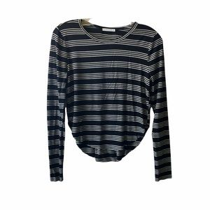 ANTISTAR Stripped long sleeve top XS